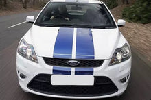 Load image into Gallery viewer, Ford Focus svt shelby Side Stripe Decal set plus racing stripe set