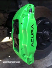 Load image into Gallery viewer, Acura caliper Decal set of 4 plus free gift