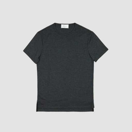 ARVO TEE---Charcoal Heather