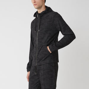 CITY CAMO FULL ZIP - Black Camo