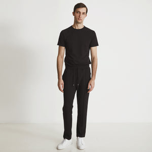 GARROS PINTUCK SLACKS - Black