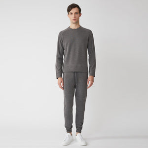 MASON CREWNECK - Dark Grey Heather