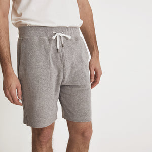 POOLSIDE SHORT - Light Grey Heather