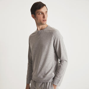 POST-GYM SWEATSHIRT - Light Grey Heather