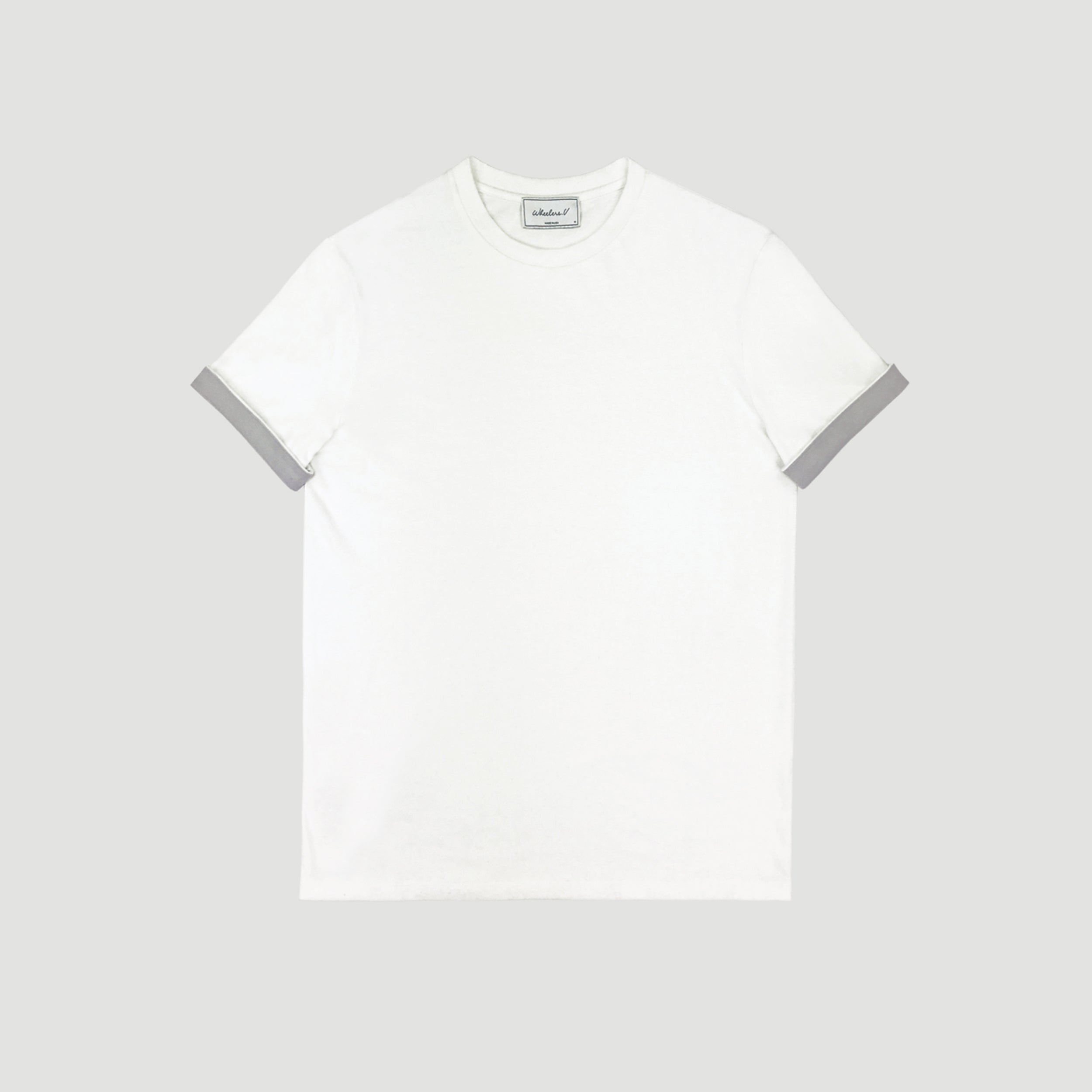 WOOSTER  TEE - Off White/Grey