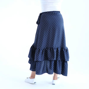 Prussian Polka dots 1 (Small Dots)