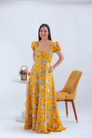 Dandelion Maxi Dress in Tropic Dream