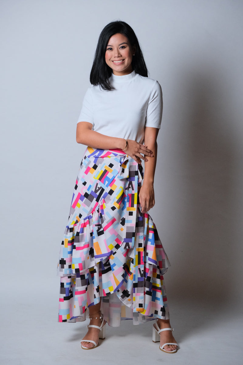 Catleya Skirt in Abstract 3