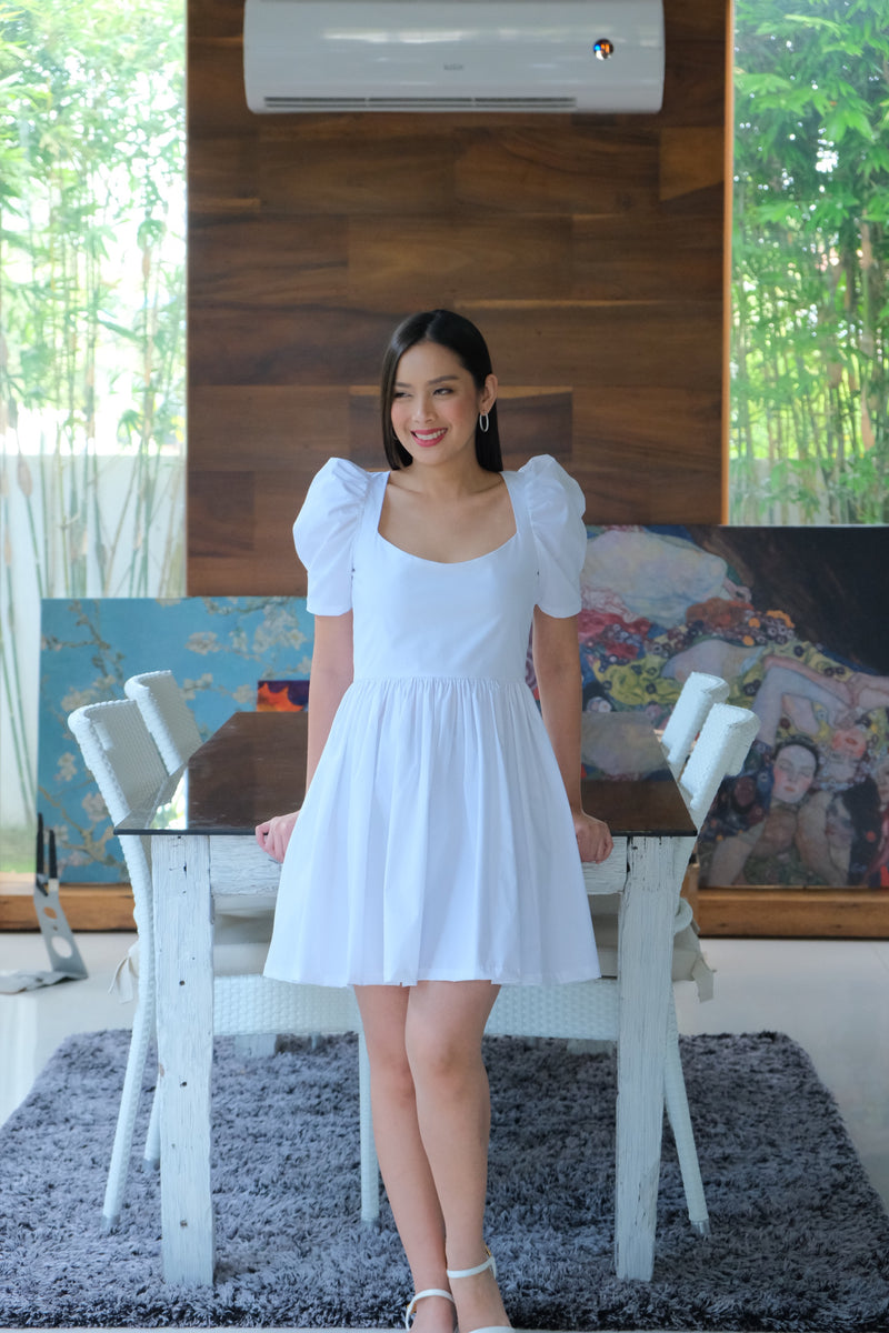 Marlowe Mini Dress in White