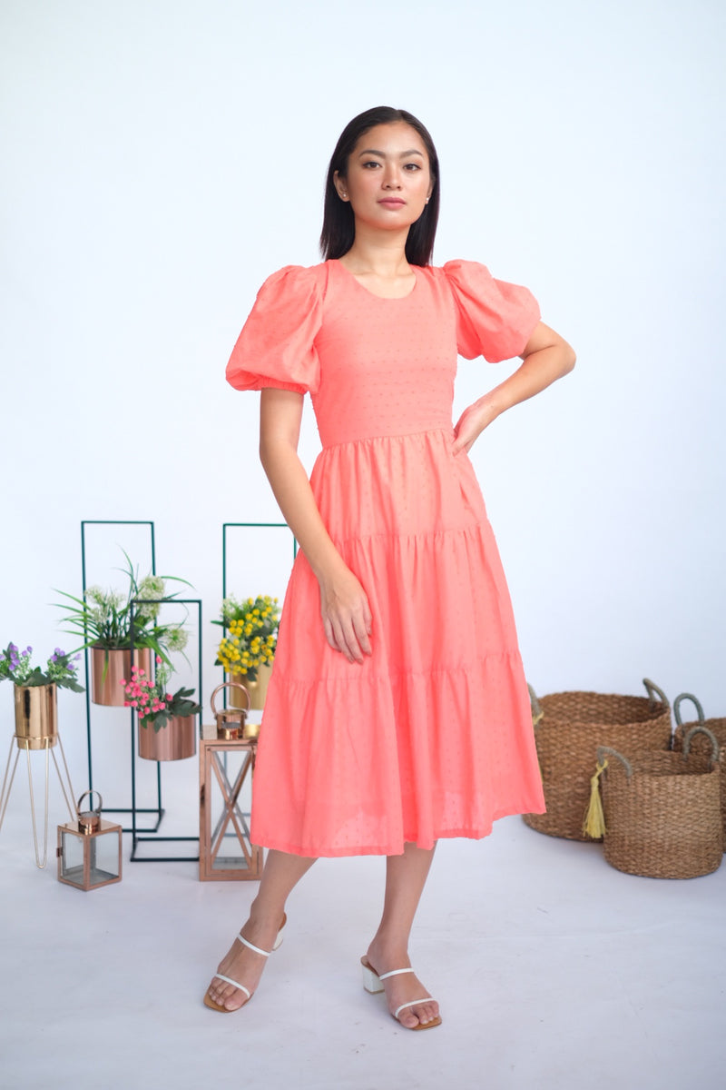 Malory Midi in Coral Dreams