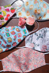Moody Florals Set - Adult Reversible Masks