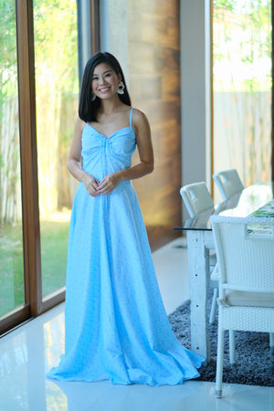 Alexa Dress in Baby Blue