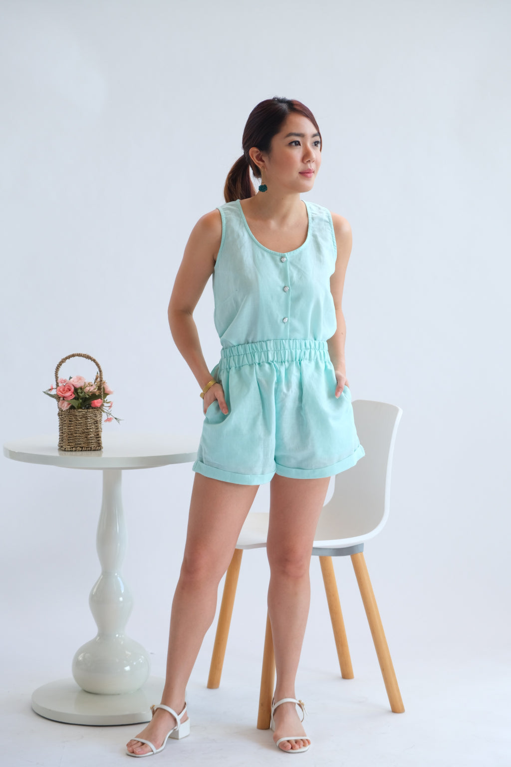 Luna Separates in Mint Magic