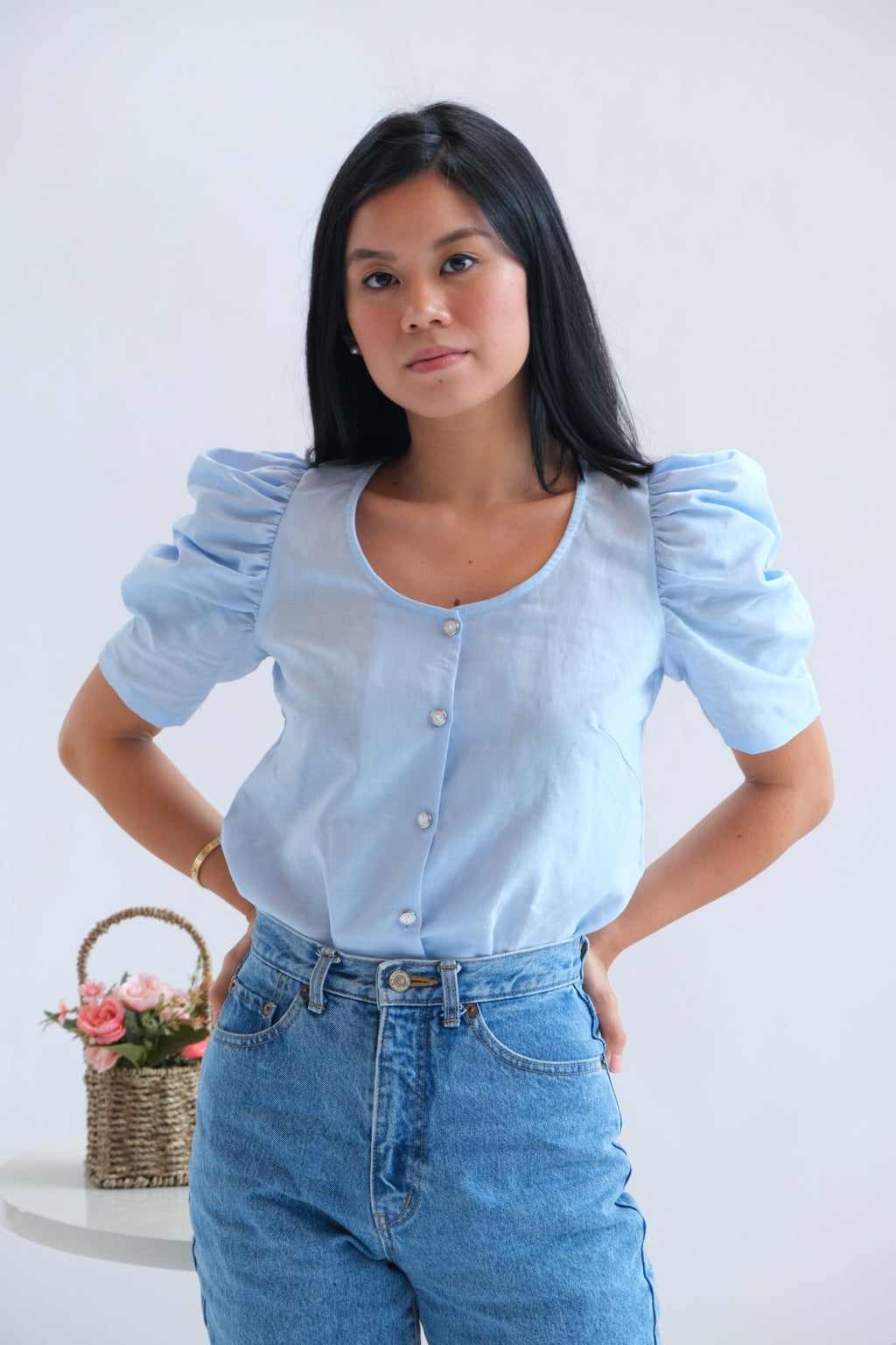 Adriana Top in Waterfall