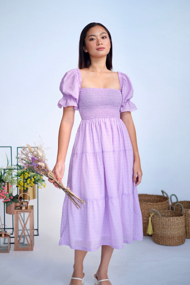 Chantilly Midi in Lavender Dreams