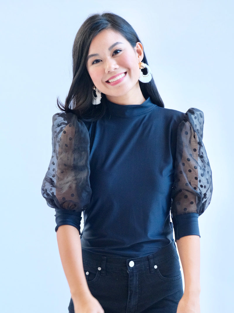 Danica Top in Black