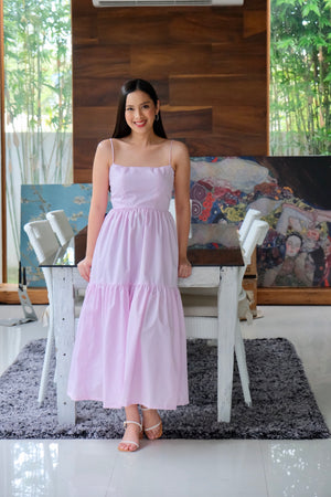 Penelope Dress in Light Pink