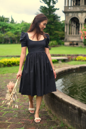 Milani Midi Dress in Black