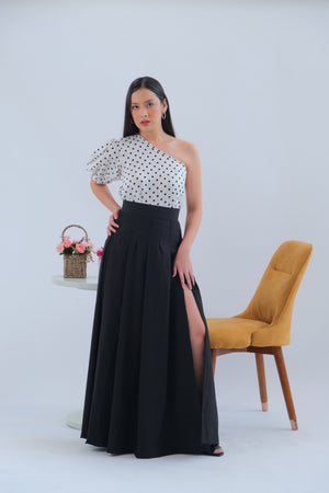 Cordelia Maxi Skirt in Black
