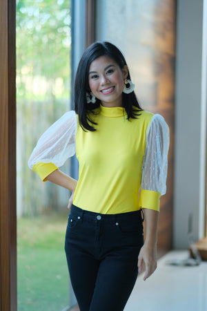 Danica Top in Yellow