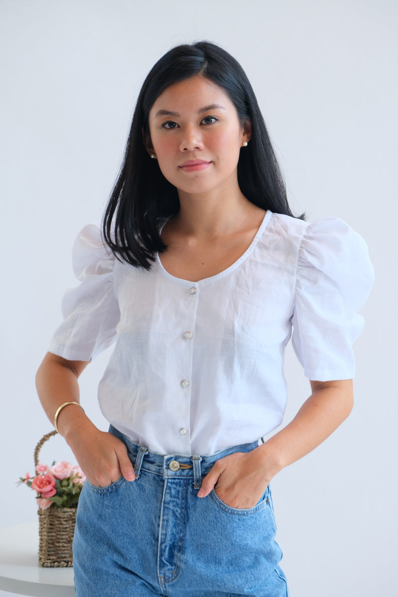 Adriana Top in White