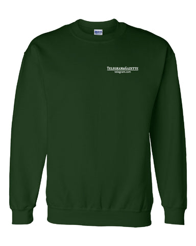 Telegram Media Crewneck Sweatshirt