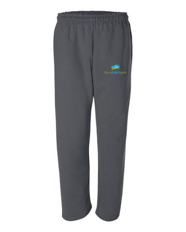 TH Media Open Bottom Pocketed Sweatpants - 12300