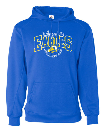 MCMS Badger Dri-Fit Hooded Sweatshirt B
