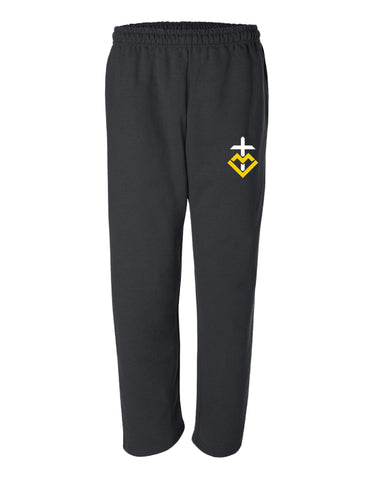 MCMS Open Bottom Sweatpants