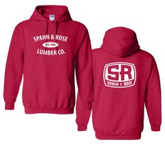 S&R Basic Hooded Sweatshirt (Black, Red, Grey & Safety Green)