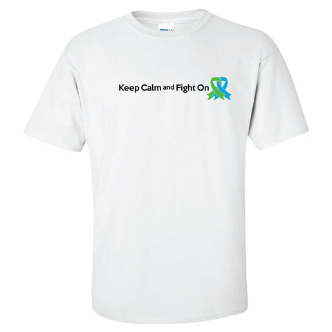 Keep Calm & Fight On Short Sleeve T-Shirt