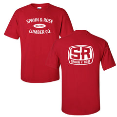 S&R Tee (Black, Red, Grey & Safety Green)