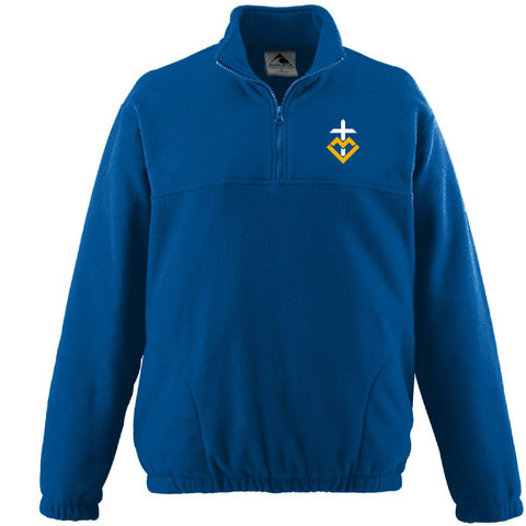 MCMS 1/4 Zip Fleece Pullover