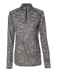 WDCSD Badger - Blend Quarter-Zip Pullover (Ladies) - 4193