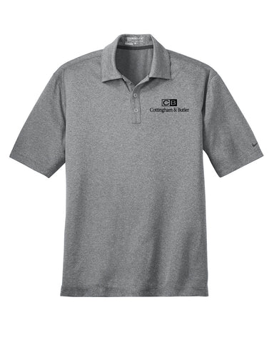 C&B Nike Golf Dri-FIT Heather Polo (Mens) - 474231