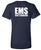 Guttenberg Municipal Hospital EMS - Short Sleeve V-Neck T-Shirt - SCREEN PRINT - (Ladies) - 6405
