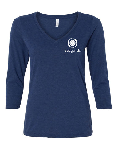 Sedgwick Bella Missy 3/4 Sleeve V-Neck (Ladies)