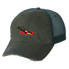 RT&T Herringbone Unstructured Trucker Cap