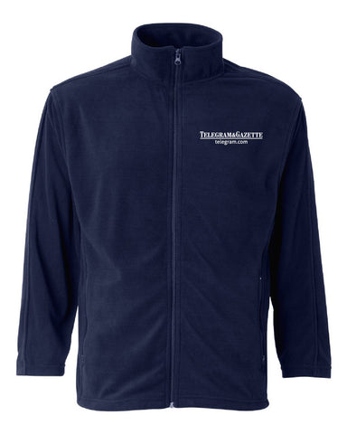 Telegram Moisture-Resistant Microfleece Full-Zip Jacket (Mens)