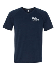 Ruhl & Ruhl Triblend V-neck T-Shirt Men's