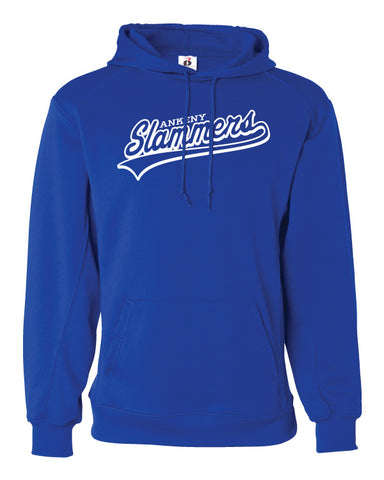 Ankeny Slammers Badger Dri-Fit Hooded Sweatshirt