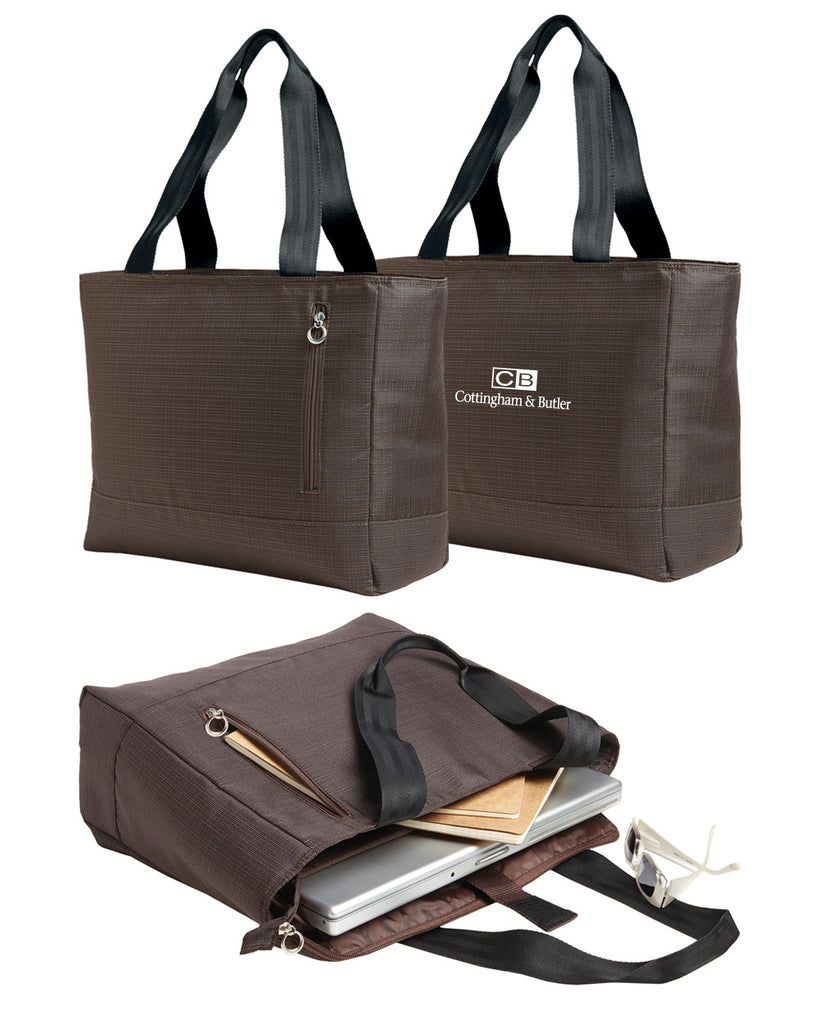 bb1044b0665c C&B Port Authority Ladies Laptop Tote | TshirtWebStore.com by ...