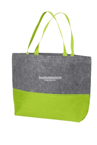 Telegram Port Authority Large Felt Tote