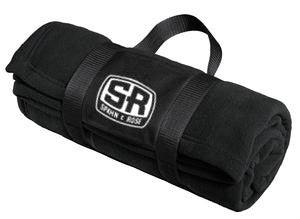 Spahn & Rose Fleece Blanket with Carrying Strap
