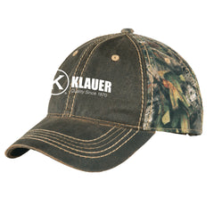 Klauer Port Authority® Pigment Print Camouflage Cap