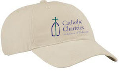 Catholic Charities Port & Company Brushed Twill Low Profile Cap