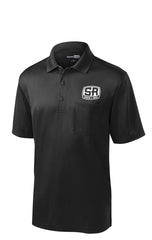 S&R Uniform - Men's Basic Snag-Proof Pocket Polo (Black or Red)