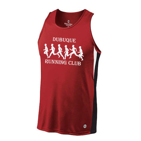 DBQ Running Club Holloway Running Singlet (Mens)