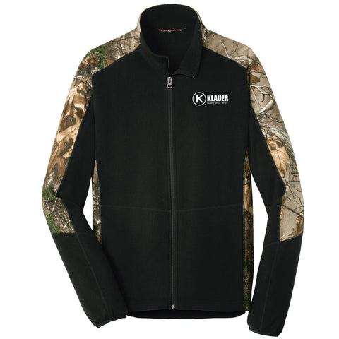 Klauer Port Authority Camouflage Microfleece