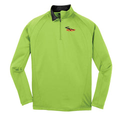 RT&T Sport-Wick Fleece 1/4-Zip Pullover (Men's) - F243